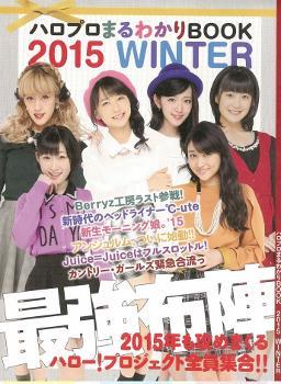 『ハロプロまるわかりBOOK 2015 WINTER』